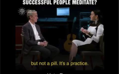Why do so many successful people meditate?